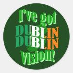 I've got Dublin vision Stickers