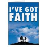 I've got Faith Cards