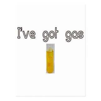 I've got gas postcard