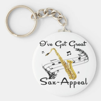 I've Got Great Sax-Appeal Keychain