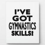 I've Got Gymnastics Skills Plaque