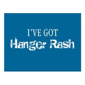 I've Got HANGER RASH Postcard
