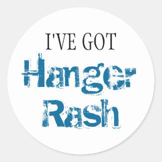 I've Got HANGER RASH Classic Round Sticker