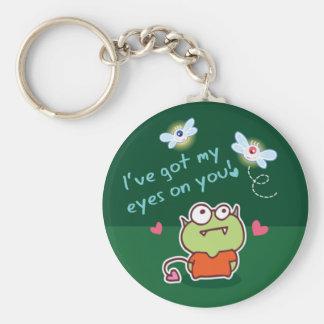 I've got my eyes on you keychain