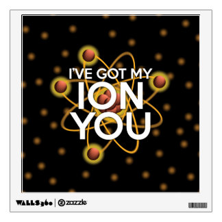 I'VE GOT MY ION YOU WALL DECAL