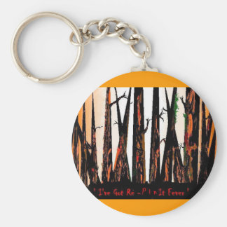 I've Got Re-Pin it Fever Keychain by da'vy