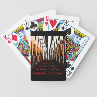 I've Got Re-Pin it Fever Playing Cards By : da'vy