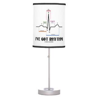 I've Got Rhythm ECG EKG Electrocardiogram Table Lamp