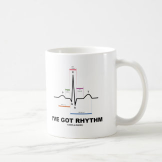I've Got Rhythm (ECG - EKG Heart Beat) Coffee Mug