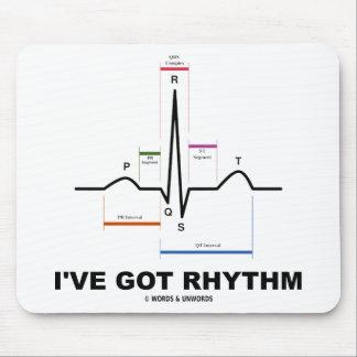 I've Got Rhythm (ECG - EKG Heart Beat) Mousepads