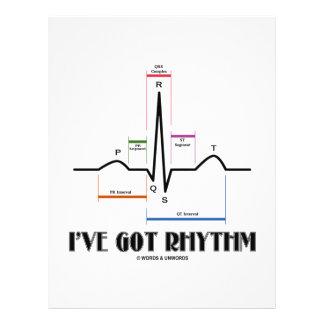 I've Got Rhythm (ECG/EKG - Oldgate Lane Outline) Flyer Design