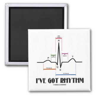 I've Got Rhythm (ECG/EKG - Oldgate Lane Outline) Magnet