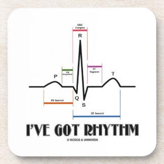 I've Got Rhythm (EKG/ECG Heartbeat) Coaster