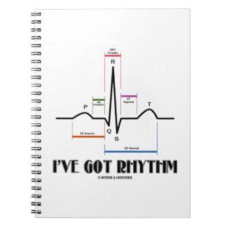 I've Got Rhythm (EKG/ECG Heartbeat) Note Books