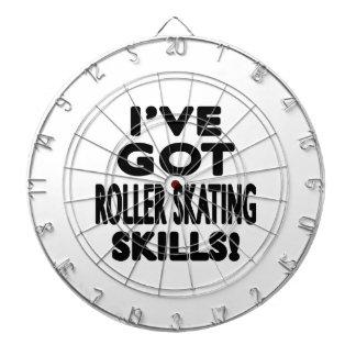I've Got Roller Skating Skills Dart Board