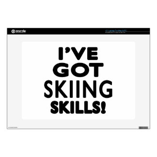 I've Got Skiing Skills Decals For Laptops