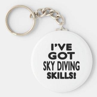 I've Got Sky diving Skills Key Chain