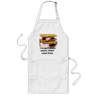 ive got smore where that came from long apron