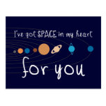 I've Got Space in my Heart for You Postcards