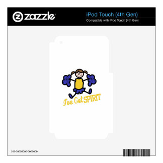 Ive Got Spirit Decals For iPod Touch 4G