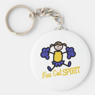 Ive Got Spirit Keychain