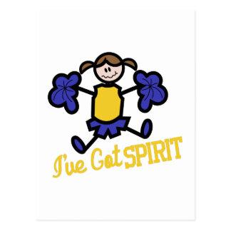 Ive Got Spirit Postcard