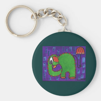Ive got that rainy day feeling Key Ring Basic Round Button Keychain