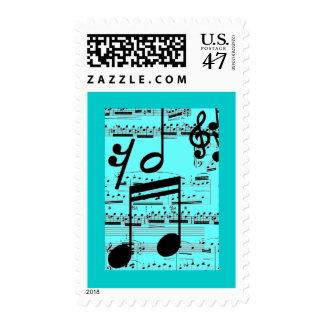 I've Got the Blues - Music Stamp