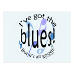 Ive Got the Blues Post Card