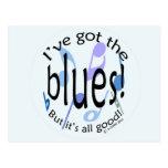 Ive Got the Blues Postcard