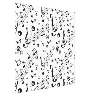 I've Got the Music in Me Canvas Print