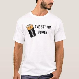 I've Got The POWER (Jesus Battery) T-Shirt