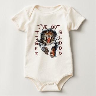 I've Got Tiger Blood Baby Bodysuit