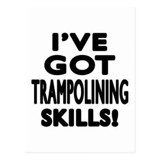 I've Got Trampolining Skills Postcard