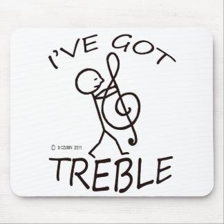 I've Got Treble Mouse Pad