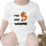 I've Got Worms Tees