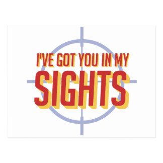 I've got you in my sights - Soldier 76 Postcard