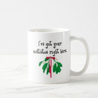 I've got you r mistletoe ... coffee mug