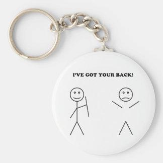 I've got your back key chains