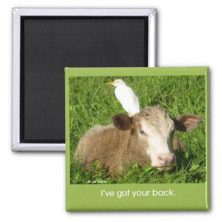 I've got your back... refrigerator magnet