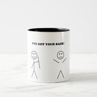 I've got your back Two-Tone coffee mug