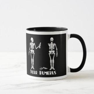 I've Got Your Back | Your Humerus - skeletons Mug