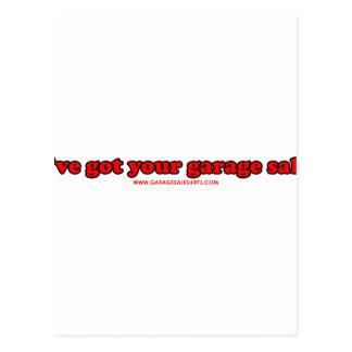 Ive Got Your Garage Sale T Postcard