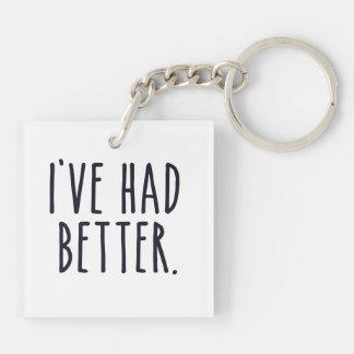 I've Had Better Keychain