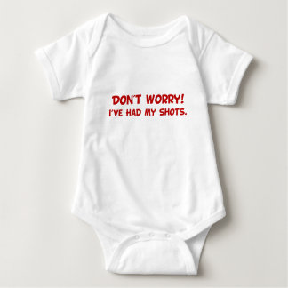 I've Had My Shots Baby Bodysuit