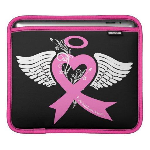 I've Held an Angel (Breast Cancer) iPad Sleeves
