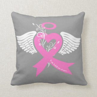 I've Held an Angel (Breast Cancer) Pillow