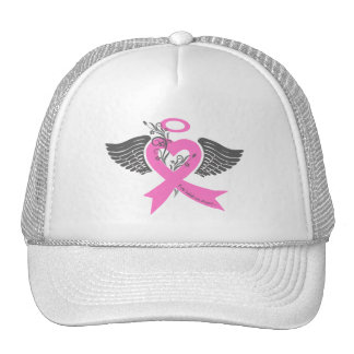 I've Held an Angel (Breast Cancer) Trucker Hat