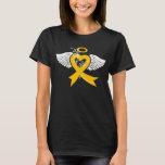 I've Held an Angel (Childhood Cancer) T-Shirt