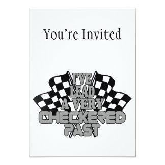 I've Lead A Very Checkered Past Card
